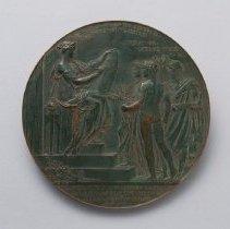 Image of Benjamin Franklin Bicentennial Medal - reverse
