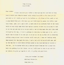 Image of Typed Letter from Joseph Musal - 2010.4.4
