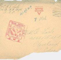 Image of Envelope fragment - 2011.175.3.1a