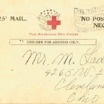 Image of Soldier's mail