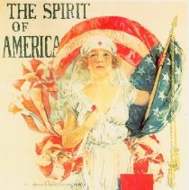 Image of The Spirit of America Poster Replica - 2011.189