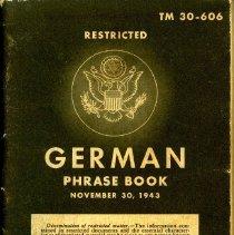 Image of German Phrase Book