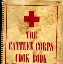 Image of The Canteen Corps Cook Book