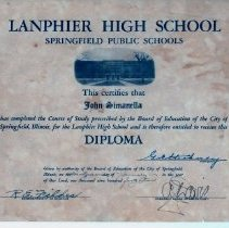 Image of High School Diploma - 2012.1.15