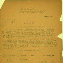 Image of Awards of Oak Leaf Cluster to Air Medal 11/03/1944