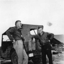 Image of Gen. Doolittle, Col. Fordyce - Africa