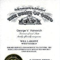 Image of Certificate - 2012.22.23