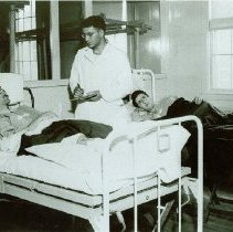Image of Patients being examined at Crile General Hospital - 2012.23.18