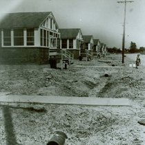 Image of Roadway and barracks at Crile General Hospital, May 29, 1944 - 2012.23.26