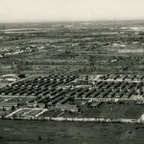 Image of Aerial photo of Crile General Hospital campus and the surrounding area - 2012.23.75
