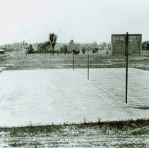 Image of Basketball court at Crile General Hospital