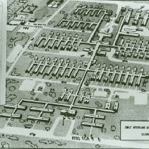 Image of Map of Crile V.A. Hospital - 2012.23.41