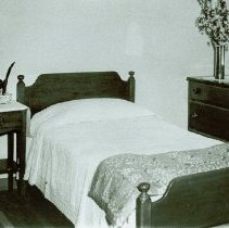 Image of Guest room at Crile General Hospital, May 15, 1944 - 2012.23.42