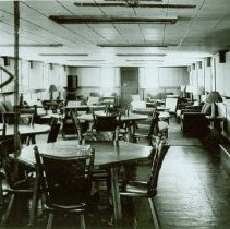 Image of Interior of Non-Com Club at Crile General Hospital, June 9, 1944 - 2012.23.43