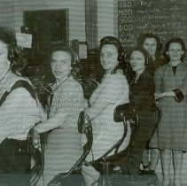 Image of The women of the Crile General Hosptial Switchboard