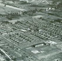 Image of Aerial photo of Crile V.A., taken by Robert Runyan, September 9, 1951 - 2012.23.55