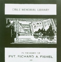 Image of Pamphlet for the Crile Memorial Library
