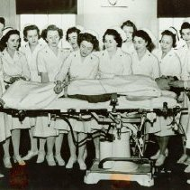 Image of Nurses learning how to heal at Crile General Hospital