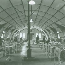 Image of Quonset hut believed to be at Crile General Hospital - 2012.23.6