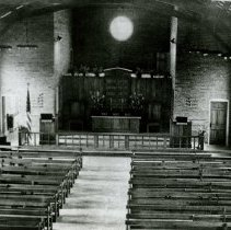 Image of Interior of the Crile Chapel, April 22, 1944 - 2012.23.77