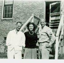 Image of Al Libhaber, Windy, Dick Schrage, 1945