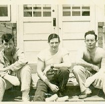Image of Far Lt: Hugh Mann, Far Rt: Vernon M. Shirts