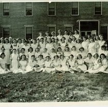 Image of Cadet Nurse Class, 1945 (side 1)