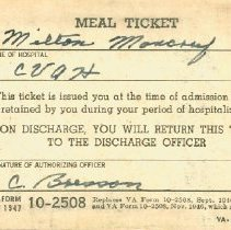 Image of Meal Ticket