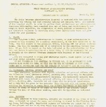 Image of Instructions to Patients Page 1, Side 1