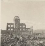 Image of Bomb assessment damage fieldwork, Hiroshima, Japan,November of 1945 - 2012.49.13