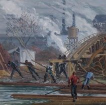 Image of John Augustus Walker, Rainy Day at the Mill, 1941.1.1
