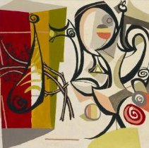Image of Byron Brown, Still Life in Red, Yellow and Green, 1948.1.04