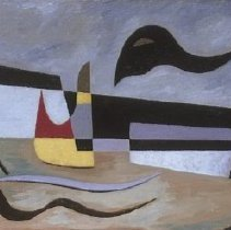 Image of Werner Drewes, A Dark Thought, 1948.1.12