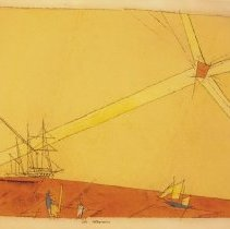Image of Lyonel Feininger, Late Afternoon, 1948.1.15