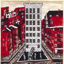 Image of Jacob Lawrence, Harlem, 1948.1.23