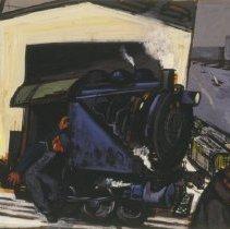 Image of Gregorio Prestopino, Donkey Engine, 1948.1.29