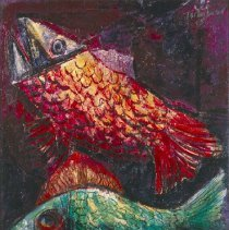 Image of Nahum Tschacbasov, Fish, 1948.1.33