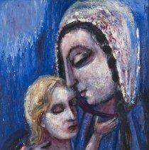 Image of Nahum Tschacbasov, Mother and Child, 1948.1.34