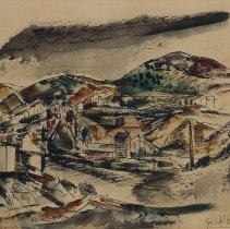 Image of John Heliker, Landscape, 1948.1.19