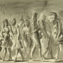 Image of Reginald Marsh, City Street, 1982.1.3