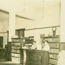 Image of Library Interior c. 1915