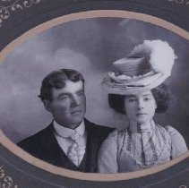 Image of Henry and Mabel Anderson  1901
