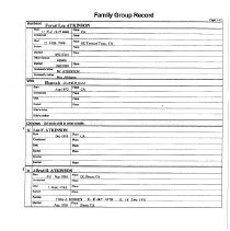Image of Forest Lee Atkinson Group Record