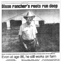 Image of News Article 1989 - Irving Bulkley