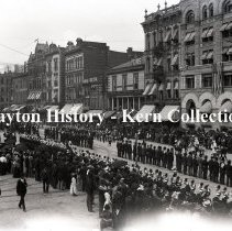 Image of Memorial Day - Dodge in foreground- Dayton, OH - 1893