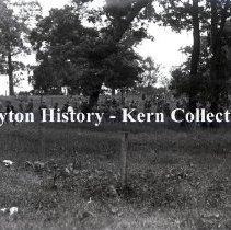 Image of K.1.1.097 - Glass-Plate Negative - Wright Bros. Celebration - 2nd U.S. Infantry - Dayton, OH 1909