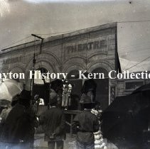 Image of K.1.1.116 - Glass - Plate Negative - Streetfair, Dayton, OH 1900