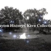 Image of K.6.6.018 - Glass - Plate negative - Brooklyn, NY - Prospect Park - lake