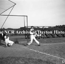 Image of NCR.1998.0604.1133 - Old River - 1931-34 NCR Baseball Champions Game Against The 1946 NCR Baseball Champions, September 30, 1946