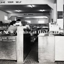 Image of NCR.1998.0628.020 - Safety Film Negative - O/C Users- Joseph's Super Market - Maudenville, Jamaica - British West Indies - May 16, 1955
